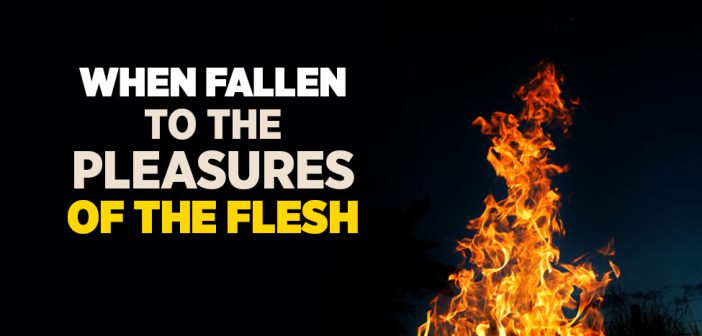 When Fallen to The Pleasures of The Flesh