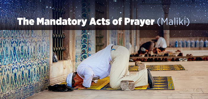 The Mandatory Acts of Prayer (Maliki)