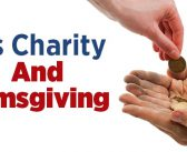 His Charity And Almsgiving